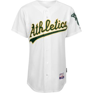 Majestic Athletic Oakland Athletics Blank Authentic Home Cool Base Jersey