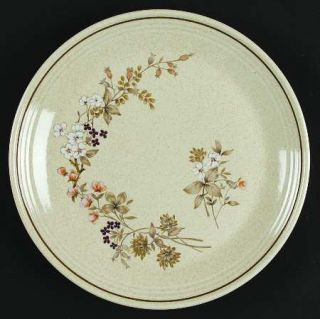 Royal Doulton Bredon Hill Salad Plate, Fine China Dinnerware   Lambethware,Pink,