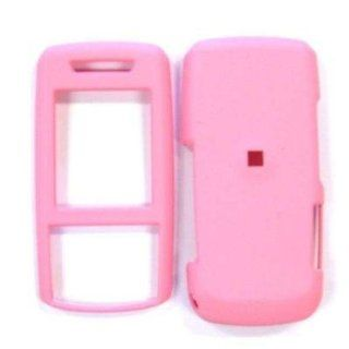 Solid Soft Pink Case Cover for Brand Samsung SGH A737 A 737 Protective Cell Phone Hard SNAP ON Cell Phones & Accessories