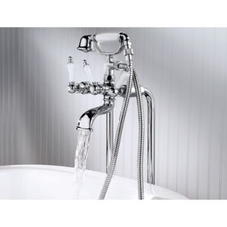 Price Pfister Savannah Free Standing Tub and Shower Faucet   028 SVFC