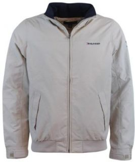 Tommy Hilfiger Mens Nylon Yacht Jacket Windbreaker at  Men�s Clothing store