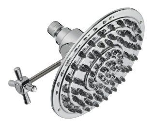 Pegasus S11E7800CP 8 Inch Power Shower Shower Head, Chrome   Fixed Showerheads