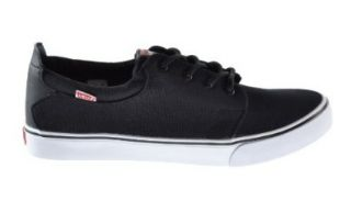 Levis Justin Men's Fashion Sneakers Black/White 516250 01a Shoes