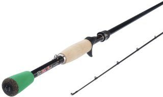 Element 21 CWZ731MH F C Carrot Stix Wild Casting Rod, Medium Heavy, 7 Feet x 3 Inch, Black  Baitcasting Fishing Rods  Sports & Outdoors