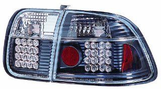 IPCW LEDT 732B2 Bermuda Black LED Tail Lamp   Pair Automotive