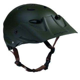 Pro Tec Ace Dig Bike Helmet (Matte Olive Green, Medium/Large)  Sports & Outdoors