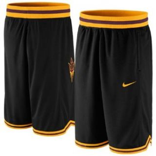 NCAA Nike Arizona State Sun Devils Replica Basketball Shorts   Black/Gold (Small) Clothing