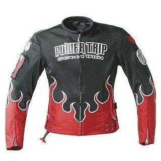 Power Trip Women's Stiletto Mesh Jacket   Large/Red/Black Automotive