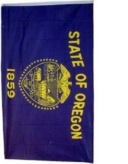 New Large 3x5 Oregon State Flag US USA American Flags  Outdoor Usa State Flags  Patio, Lawn & Garden
