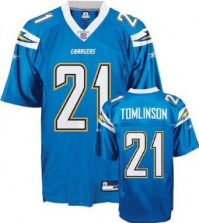 LaDainian Tomlinson Powder Blue Reebok NFL Replica San Diego Chargers Jersey   XX Large  Athletic Jerseys  Clothing