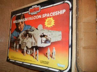 770 Vintage 1979 Star Wars Empire Strikes Back Millennium Falcon Toys & Games