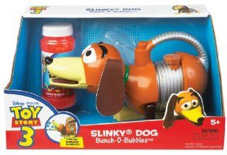 POOF Slinky Model #2259 Disney Pixar Toy Story Bunch O Bubbles Slinky Dog, Single Item Toys & Games