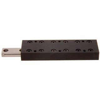 "1.575 x 3.150 Lg., 1.772"" Travel, Low Profile Crossed Roller Slide Table, Linear Motion, Del Tron (1 Each) Cross Roller Guides"