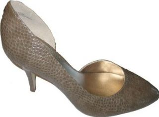Anne Klein Women's Jalyn Shoes,Taupe,9 M US Shoes