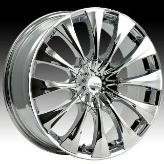 Pacer Silhouette 15x7 Chrome Wheel / Rim 4x100 & 4x4.25 with a 40mm Offset and a 73.00 Hub Bore. Partnumber 776C 5700240 Automotive