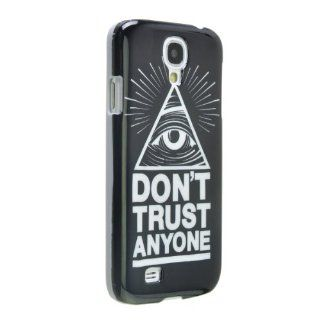 Okeler Mystery Eye Don't Trust Anyone Black Hard PC Case Cover Samsung Galaxy S4 i9500 with Free Pen Cell Phones & Accessories