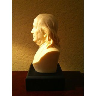 Sale   Fathers DAY Gift   Ben Franklin Bust   Founding Father   Bust Sculptures