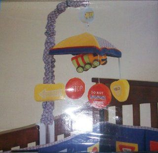 Baby Boy Crib Musical Mobile, Rotates to Carousel Waltz, Traffic Signs  Nursery Mobiles  Baby