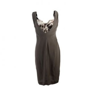 Just Cavalli Women's Silk Sleeveless Dress