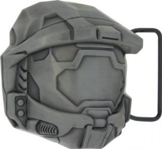 Halo Master Chief Helmet Silver Buckle Belt Buckles Clothing