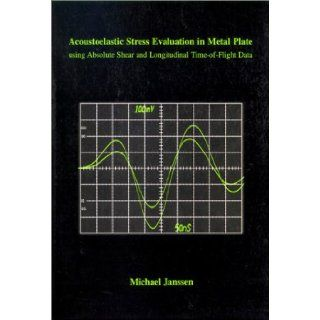 Acoustoelastic Stress Evaluation in Metal Plate Using Absolute Shear and Longitudinal Time Of Flight Data Michael Janssen 9789040710551 Books