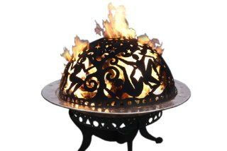 Good Directions 777MC Full Moon Party Fire Dome (Discontinued by Manufacturer)  Fire Pits  Patio, Lawn & Garden