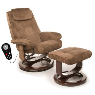 Comfort Products Padded 8 Motor Massage Recliner with Heat   Massage Chairs