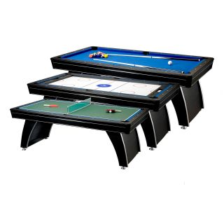Fat Cat 7 ft. Phoenix 3 in 1 Billiard Table   Pool Tables