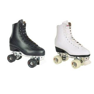 Chicago Deluxe Mens and Ladies Indoor Roller Skates   Chicago 800/805 Rink Quad Skates  Sports & Outdoors