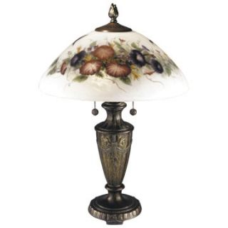 Dale Tiffany Hummingbird/Flower Table Lamp   Table Lamps