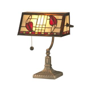 Dale Tiffany Henderson Bankers Accent Lamp   Desk Lamps