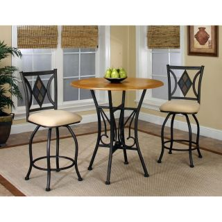Sunset Trading Dart 3 Piece Pub Table Set   Dining Table Sets