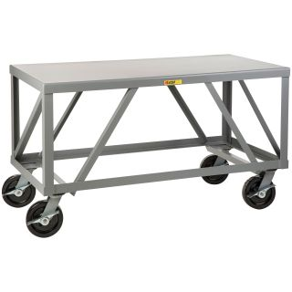 Little Giant Heavy Duty Steel Mobile Table   Workbenches
