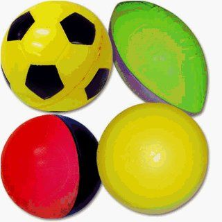 Poof Ball Volleyball/Basketball/Football/Soccer Ball  Sports Playground Balls  Sports & Outdoors