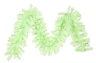 Vickerman 9 ft. Chartreuse Pre lit Garland   Christmas Garland