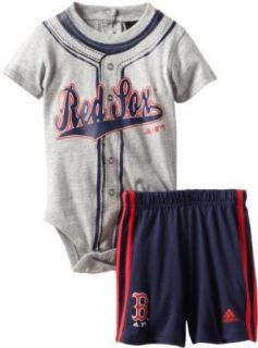 MLB Infant Boston Red Sox Jersey Short Set (Heather Grey, 24mos)  Infant And Toddler Sports Fan Apparel  Sports & Outdoors