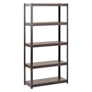 Sandusky Lee Heavy Duty Steel 5 Tier Storage Shelving   Shelving