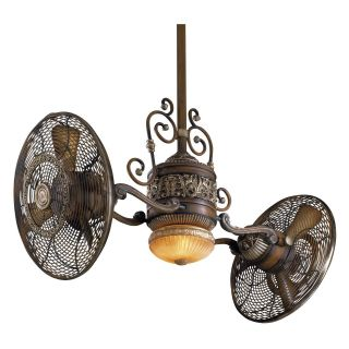 Minka Aire F502 BCW Traditional Gyro 42 in. Indoor Ceiling Fan   Belcaro Walnut   Ceiling Fans