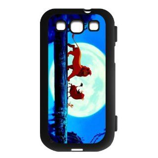 Lion King Custom Flip Case Cover Protector for Samsung Galaxy S3 I9300 Cell Phones & Accessories