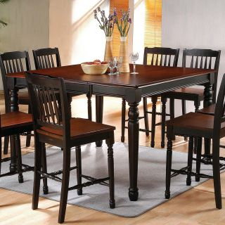 Steve Silver Durham 5 Piece Counter Height Dining Table Set   Dining Table Sets