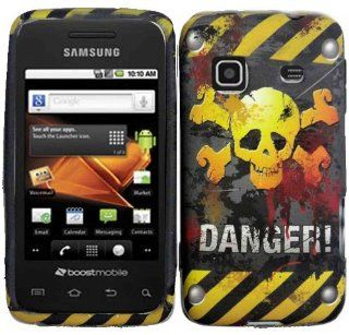 Danger Hard Case Cover for Samsung Prevail M820 Samsung Precedent M828C Cell Phones & Accessories