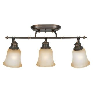 Sea Gull Springdale Bathroom Wall/Ceiling Light   23.75W in. Russet Bronze   Bathroom Lighting
