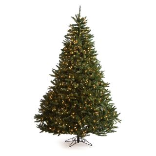 7.5 ft. Ponderosa Pine Prelit Christmas Tree   Christmas Trees