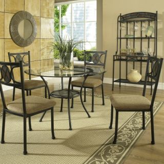 Steve Silver Carolyn 5 Piece Dining Table Set   Dining Table Sets