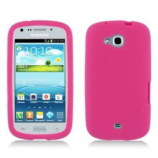 Bundle Accessory for US Cellular Samsung Galaxy Axiom R830   Pink Silicon Skin Case Protector Cover + Lf Stylus Pen + Lf Screen Wiper Cell Phones & Accessories