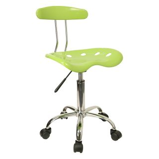 Flash Furniture Computer Task Chair with Tractor Seat and Chrome Base   Sewing Chairs