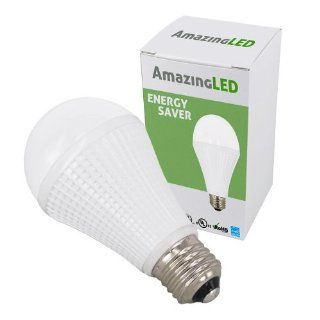 AmazingLED 11 Watts (60W Equivalent) A19 standard edison socket E26 Standard Base LED Light Bulb   4200K Natural White, 830 Lumens   Led Household Light Bulbs