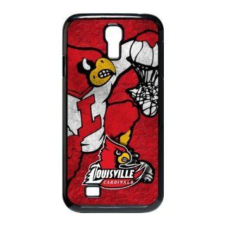 Louisville Cardinals Samsung Galaxy S4 i9500 Case NCAA University of Louisville Red Cards Logo Cases Cover at abcabcbig store Cell Phones & Accessories