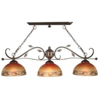 Dale Tiffany 3 Light Garden Light Fixture Pendant   Tiffany Ceiling Lighting