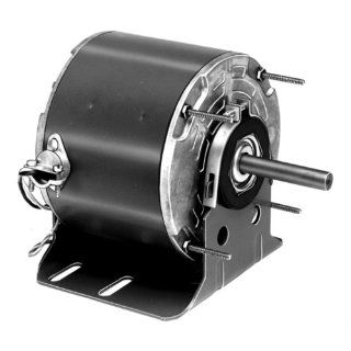 "Fasco D834 5.6"" Frame Totally Enclosed Permanent Split Capacitor Direct Drive Blower and Unit Heater Motor with Ball Bearing, 1/6HP, 1075rpm, 115V, 60Hz, 2.7 amps Electronic Component Motors"